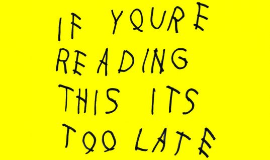 Drake: 'If You're Reading This It's Too Late' Album Review