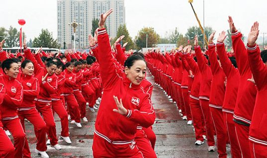 Watch 18,000 Chinese Pensioners Dance to Break World Record