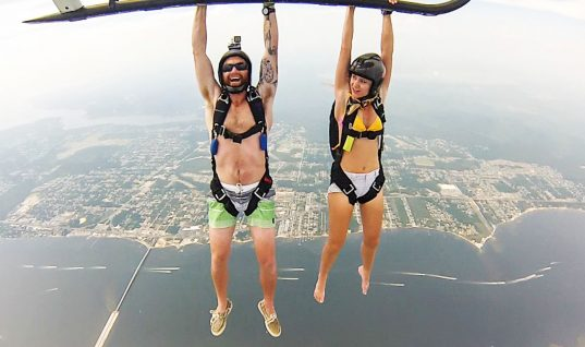 Helicopter Skydiving: Because Regular Skydiving Is for Wimps