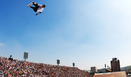 Skateboarder Catches Nearly 8 Meters of Air to Break World Record