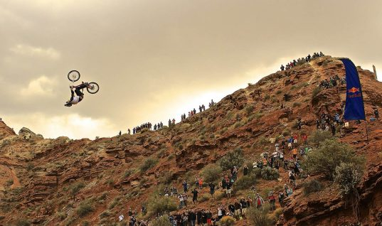 Watch Kelly McGarry Backflip Over a 72-Foot Canyon