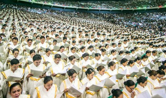This 8,688 Member Gospel Choir Is the World's Largest