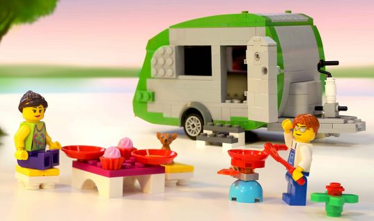This Is the World's Largest Lego Caravan