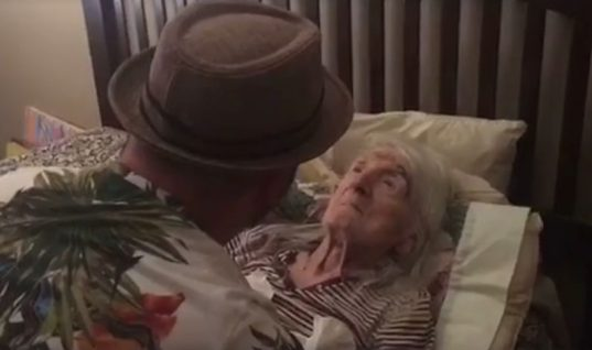 It was his Grandmother's 98th Birthday, When You See What He Did It Will Bring You to Tears