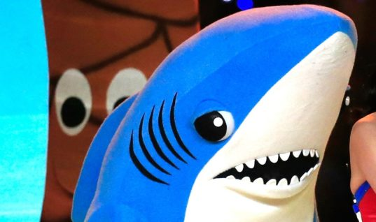 Left Shark Has Something to Say