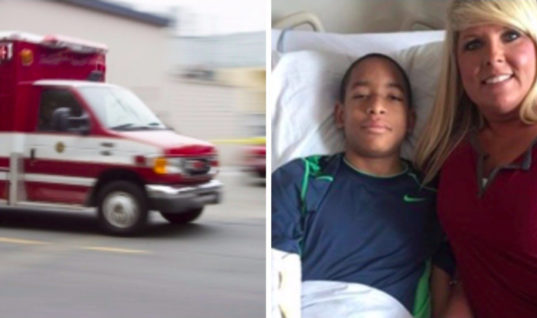 Nurse Stops Boy From Leaving School After She Spots Something That Others Didn't