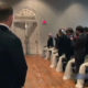 He Was Waiting For His Bride, But When The Door Opens, He Is Shell Shocked