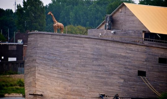 A Man Has Built Noah's Ark, We Have The Exclusive Footage Of How It Looks From Inside